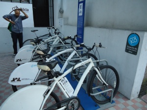 Bikla Bike Share in Guadalajara