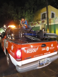 Al Teatro en Bici & Red Cross